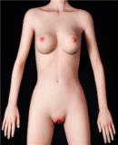 リアル人形 ラブドール 145cm Aカップ  #8頭部 高級シリコン頭部+TPE材質ボディ 身長など選べる FUDOLL
