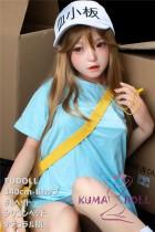 リアル人形 ラブドール 140cm Bカップ  #8頭部 高級シリコン頭部+TPE材質ボディ 身長など選べる FUDOLL
