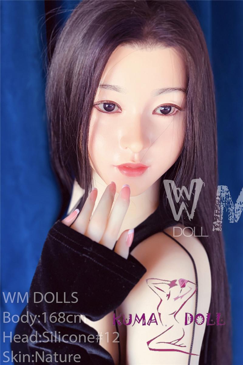 シリコン製頭部+TPEボディ WM Dolls 168cm シリコンヘッド #12