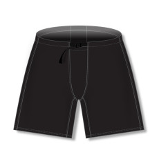 Solid Color Ice Hockey Pant Shells Black EPS01