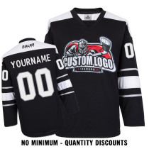 Custom Your Hockey Jerseys (Any Logo Any Number Any Name) Los Angeles Kings Black ECL01