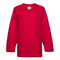 H80-005 Red Blank hockey Practice Jerseys