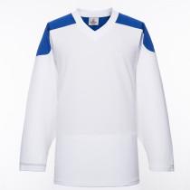 H100-207 White Blank hockey Practice Jerseys