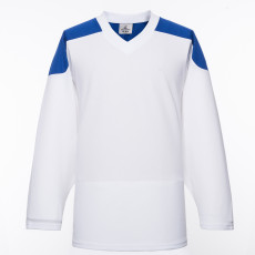 H100-207 White Blank hockey Practice Jerseys