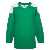 H100-210 Green Blank hockey Practice Jerseys
