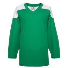H100-210 Green Blank hockey Practice Jerseys
