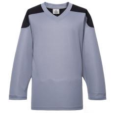 H100-822 Grey Blank hockey Practice Jerseys