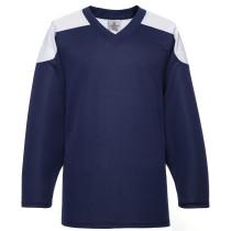 H100-216 Navy Blue Blank hockey Practice Jerseys