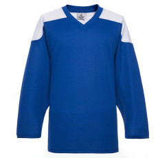 H100-206 Blue Blank hockey Practice Jerseys