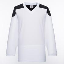 H100-222 White Blank hockey Practice Jerseys