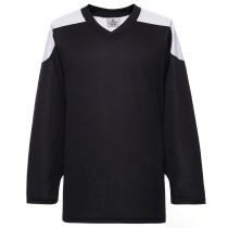 H100-221 Black Blank hockey Practice Jerseys