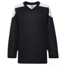H100-221 Black Blank hockey Practice Jerseys