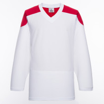 H100-209 White Blank hockey Practice Jerseys