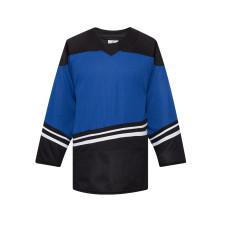 H500-103 Blue/Black Blank hockey Designer Jerseys