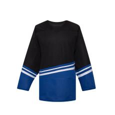 H500-003 Black/Blue Blank hockey Designer Jerseys