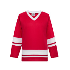 H400-208 Red/White Blank hockey Practice Jerseys