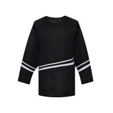 H500-002 Black/Black Blank hockey Designer Jerseys