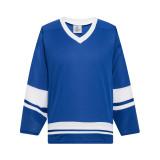 H400-206 Royal/White Blank hockey Practice Jerseys