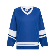 H400-206 Royal/White Blank hockey League Jerseys