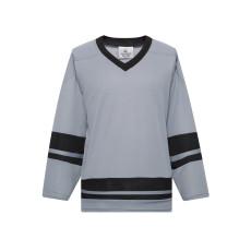 H400-822 Grey/Black Blank hockey League Jerseys