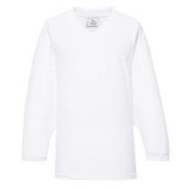 H80-000 White Blank hockey Practice Jerseys