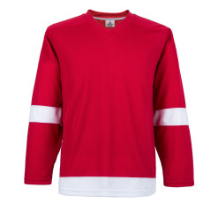 H900-E007 Red Blank  hockey  Practice Jerseys