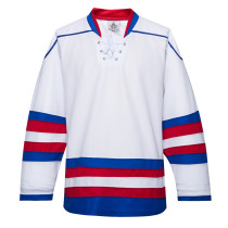 H900-E035 White Blank  hockey  Practice Jerseys