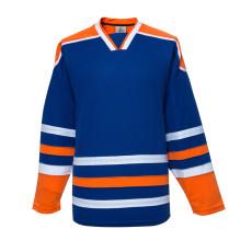 H900-E011 Blue Blank  hockey  Practice Jerseys