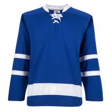 H900-E066 Blue Blank  hockey  Practice Jerseys