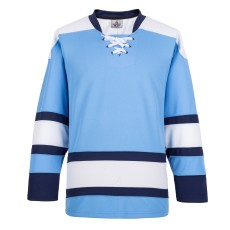 H900-E004 Blue Blank  hockey  Practice Jerseys