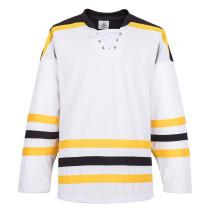 H900-E057 White Blank  hockey  Practice Jerseys