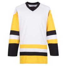 H900-E081 White Blank  hockey  Practice Jerseys
