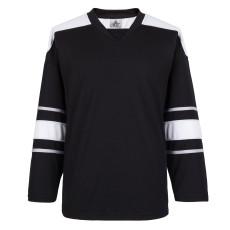 H900-E062 Black Blank  hockey  Practice Jerseys