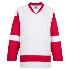 H900-E008 White Blank  hockey  Practice Jerseys