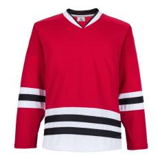 H900-E022 Red Blank  hockey  Practice Jerseys
