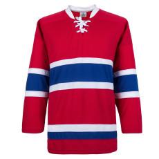 H900-E067 Red Blank  hockey  Practice Jerseys