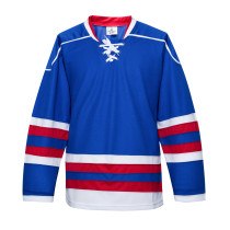 H900-E036 Blue Blank  hockey  Practice Jerseys