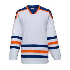 H900-E051 White Blank  hockey  Practice Jerseys