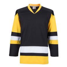 H900-E005 Black Blank  hockey  Practice Jerseys