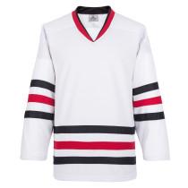H900-E009 White Blank  hockey  Practice Jerseys