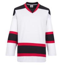H900-E072 White Blank  hockey  Practice Jerseys