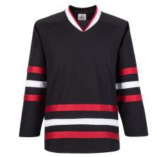 H900-E031 Black Blank  hockey  Practice Jerseys