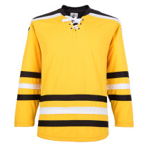 H900-E032 Yellow Blank  hockey  Practice Jerseys