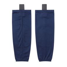 HS80-XW089 Navy Blue Blank  hockey  Practice socks(Pair)