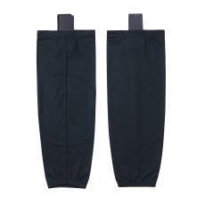 HS80-XW022 Black Blank  hockey  Practice socks(Pair)