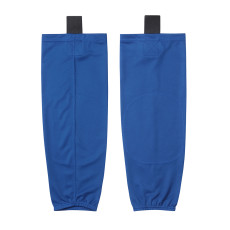 HS80-XW061 Blue Blank  hockey  Practice socks(Pair)