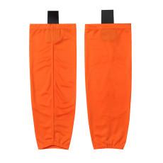HS80-XW088 Orange Blank  hockey  Practice socks(Pair)
