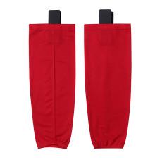 HS80-XW062 Red Blank  hockey  Practice socks(Pair)