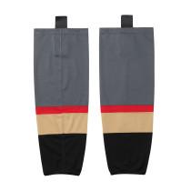 HS100-XW059 Grey Blank  hockey  Team socks(Pair)