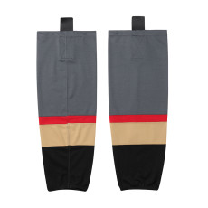 HS100-XW059 Grey Blank  hockey  Team socks(Pair)